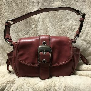 St John's Bay Genuine Leather Hobo Shoulder Purse